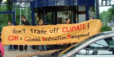 Banner Don\'t trade off climate